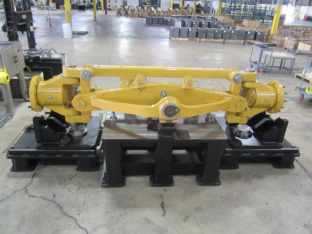 Motor Grader Front Axle Assembly