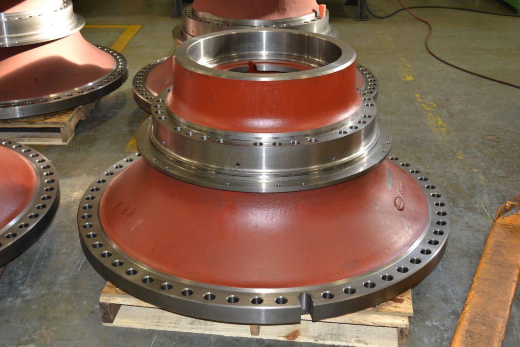 Acme OEM Mining parts | Wheel Hub Red